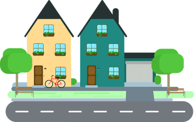 Homes On Street