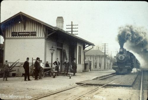 Wanatah train depot