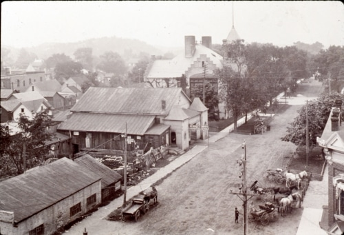 4th Street, early 1900s