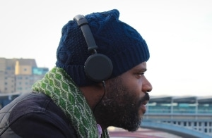 Man With Headphones On