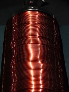 copper wire - magnetic coil