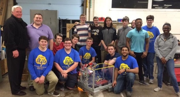 MCAS robotics team