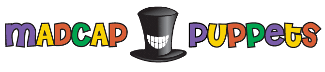 Madcap Puppets logo with top hat
