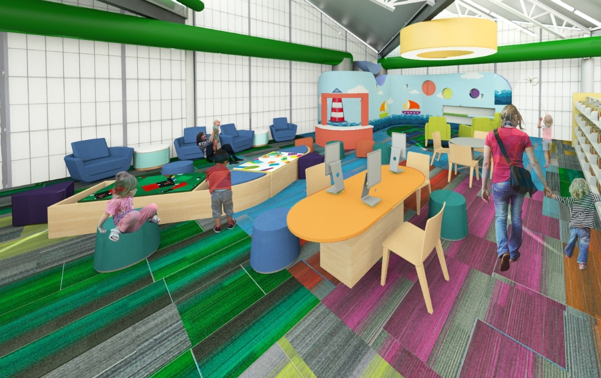 Rendering Of BabyTalk Area