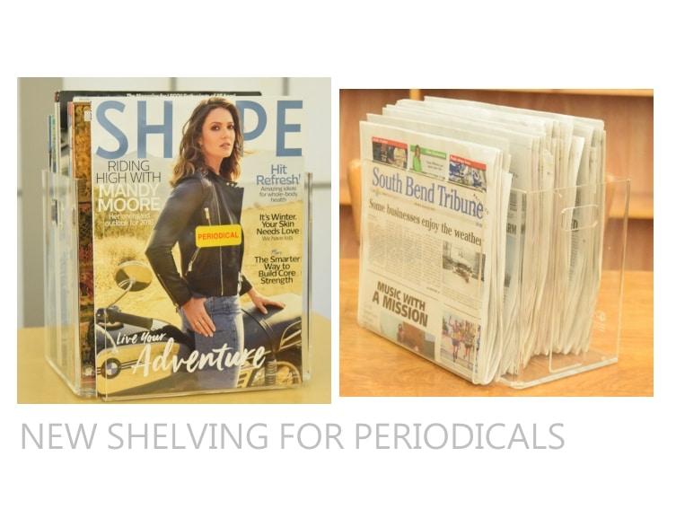 Periodicals Shelving