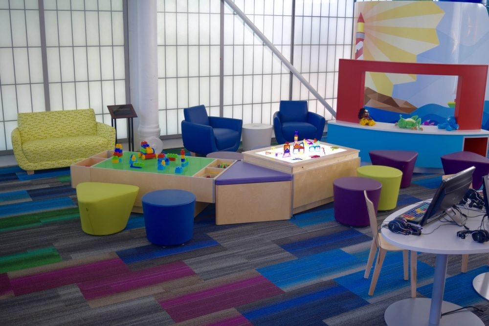 Lego And Light Tables