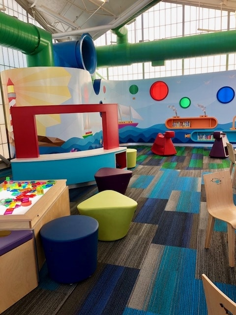 Baby Talk Area And Puppet Theatre