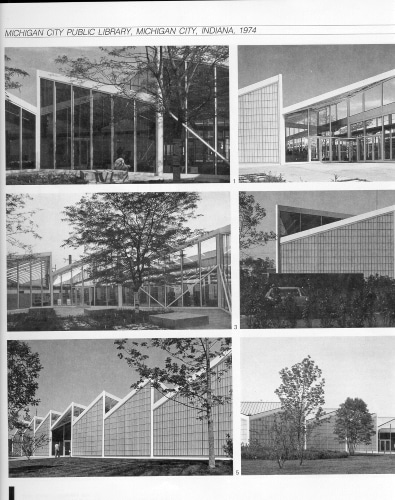 collection of exterior photos, 1977