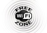 'free wifi zone' icon