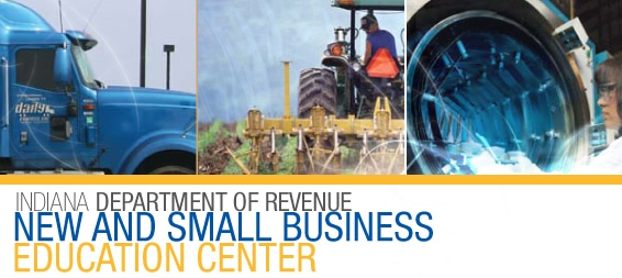 Indiana Department of Revenue Business Education Center