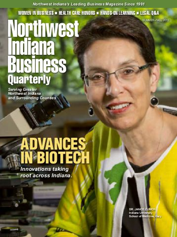 Northwest Indiana Business Quarterly cover
