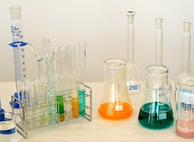 laboratory equipment and chemicals