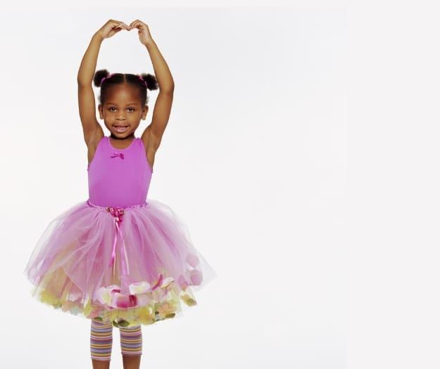 girl in ballerina costume