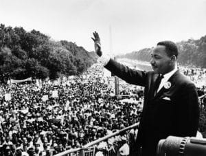 Martin Luther King, Jr. at national mall