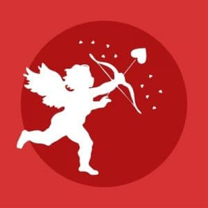 angel/cupid with bow