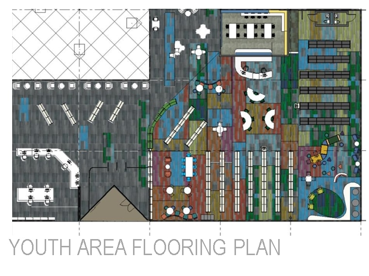 Youth Area Flooring Plan