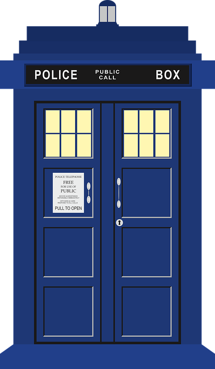 Dr. Who tardis telephone box