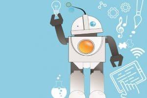 makerspace - cartoon robot