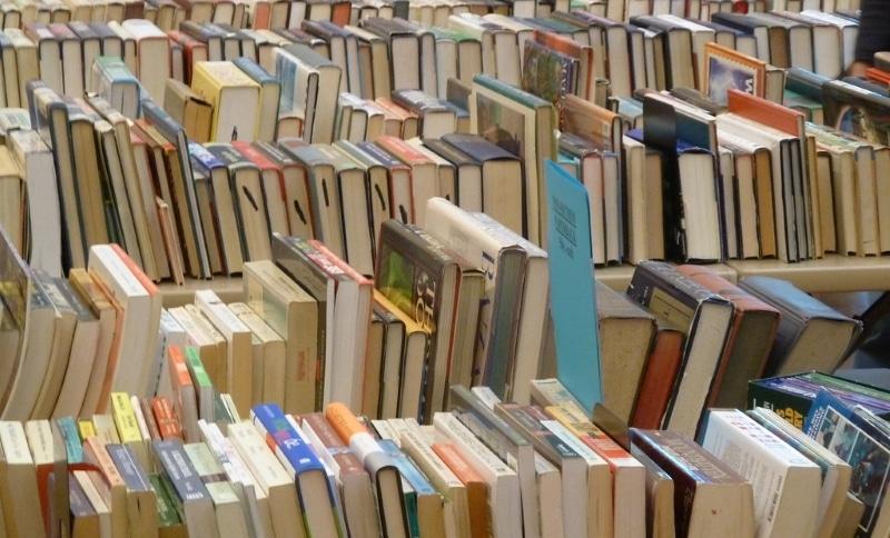 books in book sale