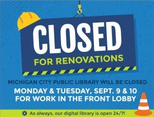 Closed for Renovations