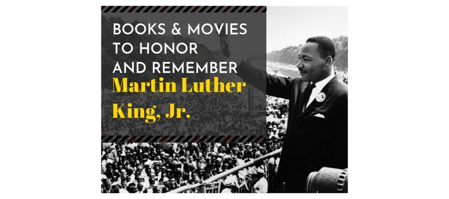 Martin Luther King books and movies