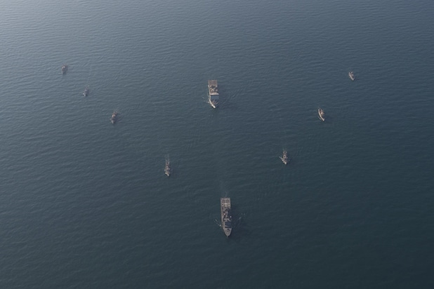 Maritime exercise in Red Sea