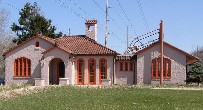 Beverly Shores depot