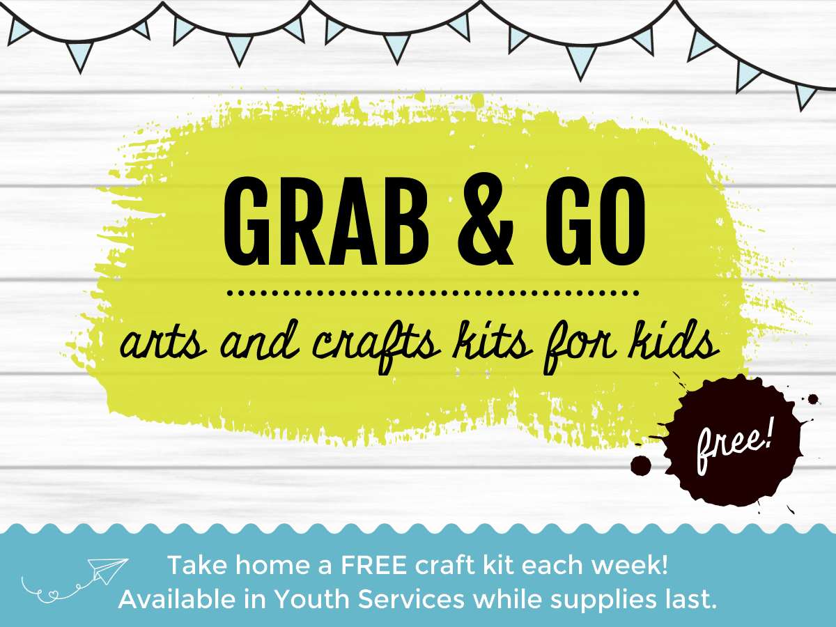 craft kits for kids available in Youth Services