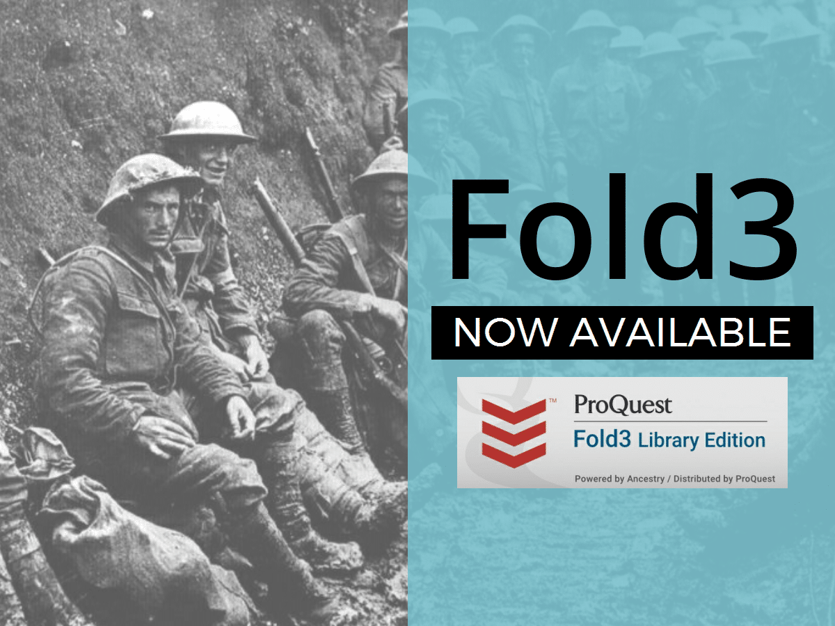 Fold3 Military Records Database Now Available