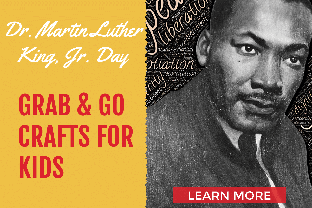 MLK Day crafts for kids