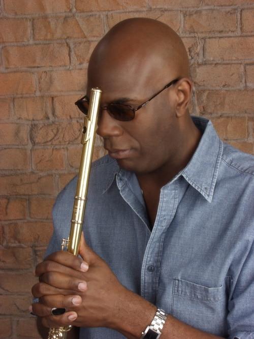 Galen Abdur-Razzaq with flute