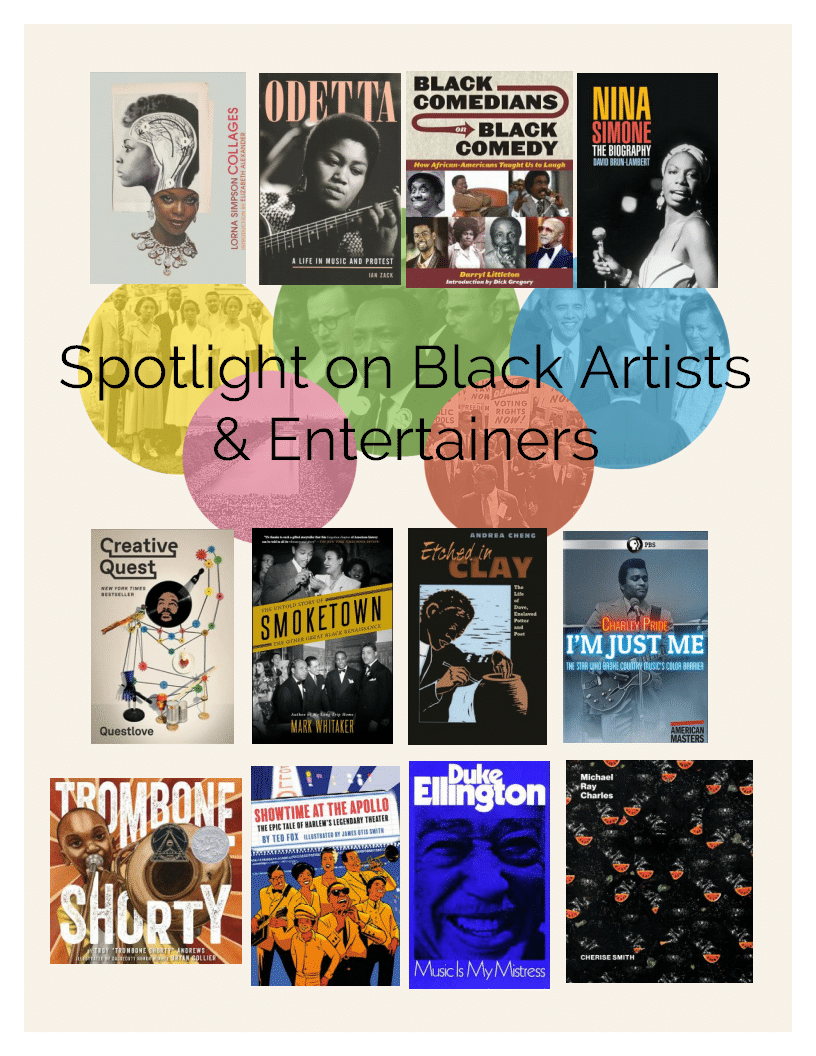 Black Artists & Entertainers
