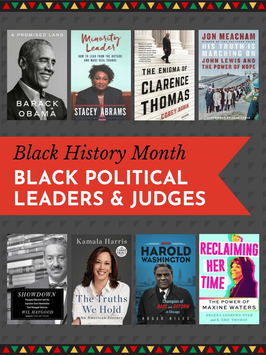 Black Political Leaders & Judges