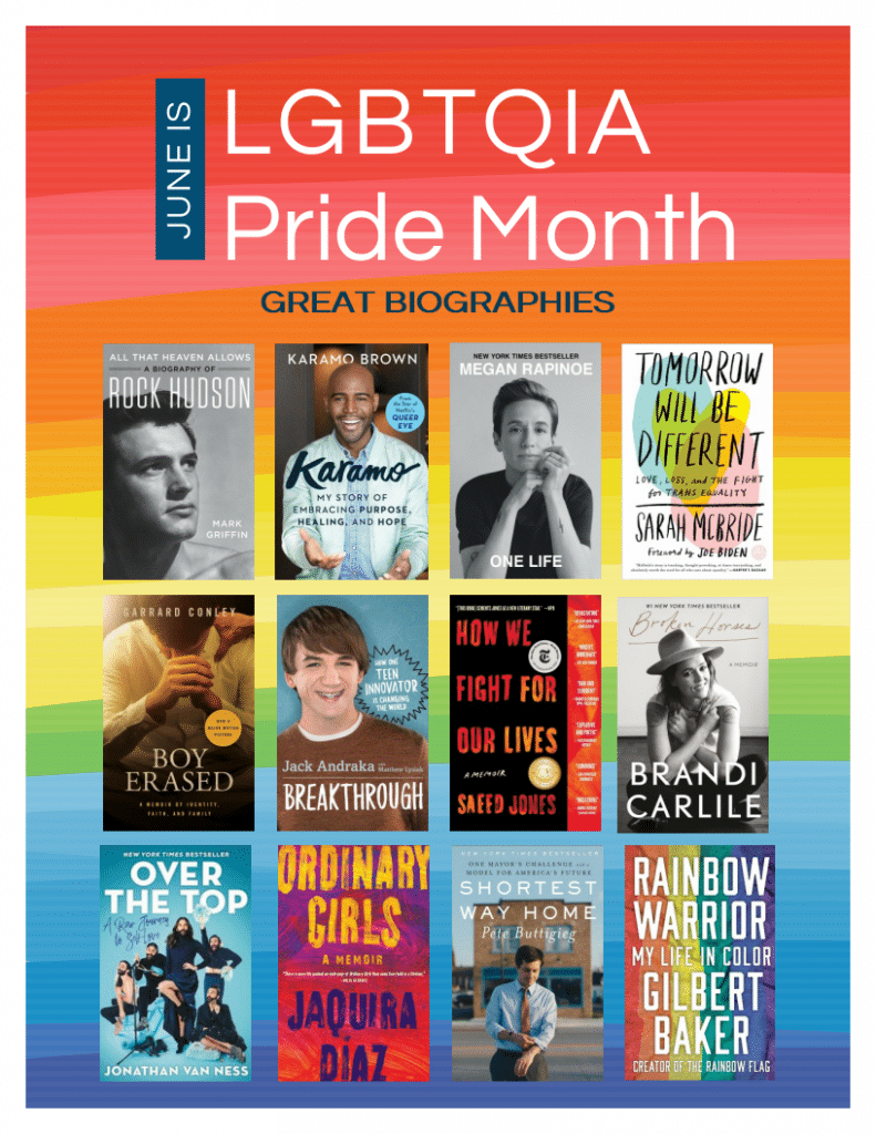Pride Month: Great Biographies